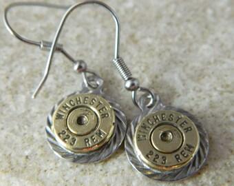 Winchester 223 Dangle Earrings