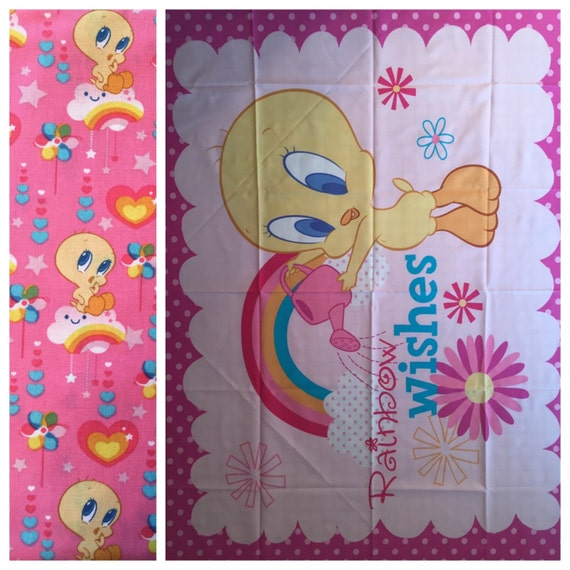 Tweety Bird Boutique Crib Mini Crib Toddler Nursery Bedding Set
