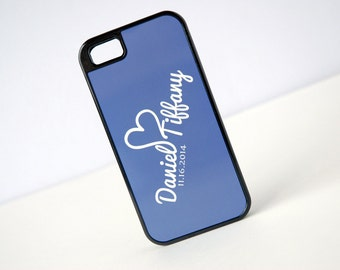Personalized Phone Case, Couples and Heart Monogram Phone Case, iPhone 6 Case, iPhone 7, 7 plus Case, Samsung Galaxy S4, S5, S6 Case