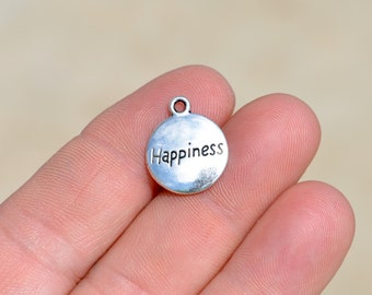 1 Silver Happiness Charm SC3456