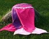 Fleece Mermaid Tail Blanket, child SM