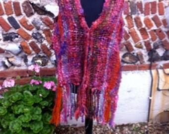 Hand Woven Wool Shawl