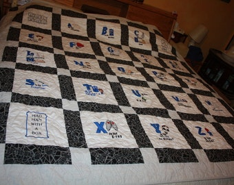 ABC Doctor Who Quilt