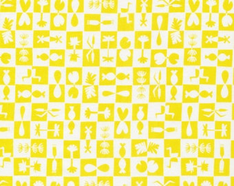 Wholesale, Organic, Cotton, Bright, Yellow, Fabric, Waterland, Reflection, Unisex, Baby, Designer, Quilting,Cloud, 9, Ocean, Squares, 1 yard