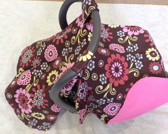 Baby Car Seat Cover Canopy- infant carseat canopy tent