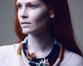 Seashore souvenir collection - Rusty Coral tribal necklace