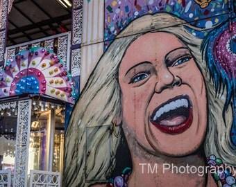 Fun House - State Fair - Midway - County Fair - Colorful - Fair - Circus - Summer Fun - Fine Art Photography