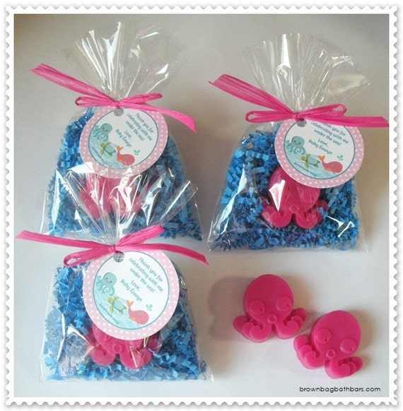 Baby Shower Favors Under 2 ~ Under the sea baby shower favors octopus party ocean
