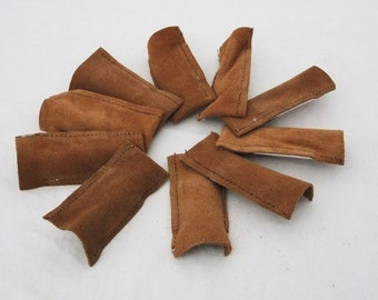 Leather Finger Guards Package of 10
