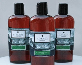 The Hiker Hand and Body Lotion  Mens Line