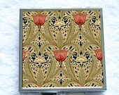 Compact Mirror - Tulip Garden - Arts & Crafts Movement(1890-1910)