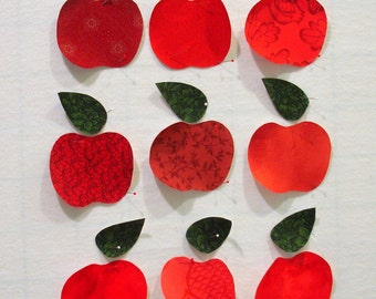 Apples Iron On Appliques