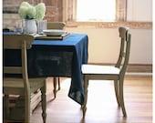 Bohemain Tablecloth -Navy- Free Shipping to USA