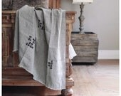 Indian Linen Blanket- Free Shipping to the USA.