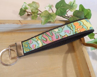KEY FOB...in Dancing Paisley by Amy Butler
