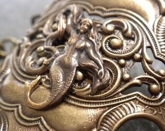 Mermaid Jewelry Art Nouveau Bracelet