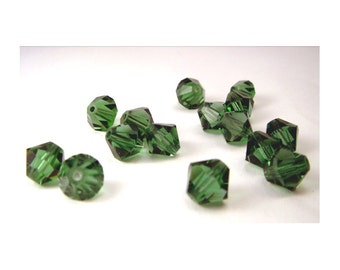 4mm Erinite Swarovski Bicone Beads - (45)