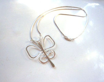 Butterfly Pendant, Simply Elegant made with Sterling Silver