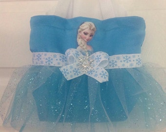 Princess Elsa Tutu Tote Bag
