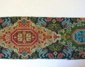 28.5 x 9.5 Inches Exquisite Vintage Hand Woven Tapestry Piece