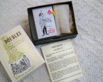 "Vintage Game Original Box ""Doubles"" Spain Card Game Classic Pub Game"