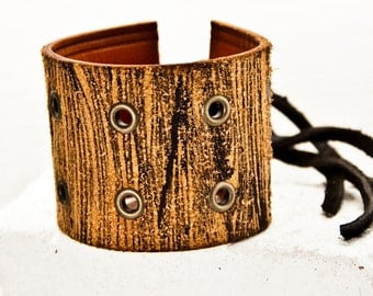 Leather Jewelry, Leather Cuff, Leather Bracelet, Leather Wristband, Wrist Cuffs