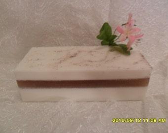 Arabian Sandalwood Glycerin Soap Loaf   2#
