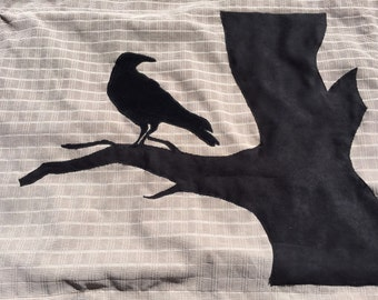 Crow in a Tree Pillow Sham