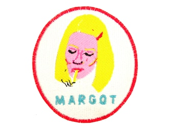 Margot From The Royal Tenenbaums Iron On Patch Wes Anderson