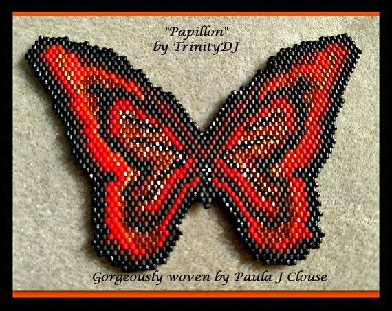 Items similar to bp an 045 papillon magnifique brick for Tutorial papillon