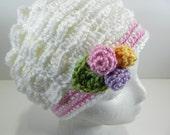Vintage Style Scallop Hat