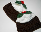Made to Order - Christmas Pudding Hat