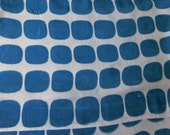 Rayon Infinity Scarf, Blueprinted with Construction Fencing