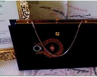 Book Clutch The Fellowship of the Ring by J.R.R. Tolkien Book Purse Made to Order
