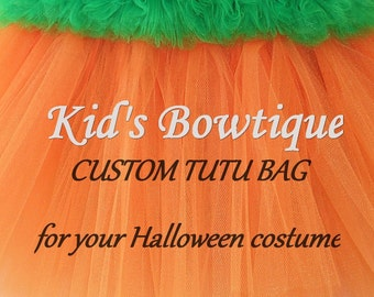 CUSTOM HALLOWEEN BAG - Personalized and Designed for your Halloween Costume