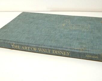 The Art Of Walt Disney By Christopher Finch, An Abrams Artbook