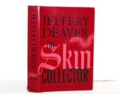Hollow Book Safe The Skin Collector Modern Book New Dust Jacket Travel Hotel Safe Thumb Drive Hidden Space Cash Money Stash