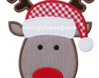 823 Reindeer 3 Machine Embroidery Applique Design