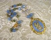 Blue Fairy Necklace as se...