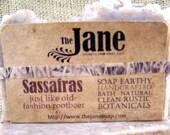Sassafras Soap -  Old Fashioned Rootbeer - Vegan Friendly - Lye Soap
