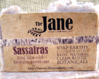 Sassafras Soap -  Old Fashioned Rootbeer - Vegan Friendly - Lye Soap