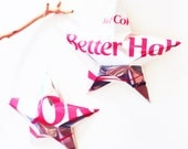 Better Half Diet Coke Stars Christmas Ornaments Soda Can Upcycled Coca Cola