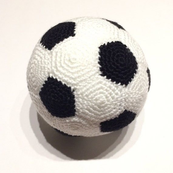 Crochet Soccer Ball PDF PATTERN