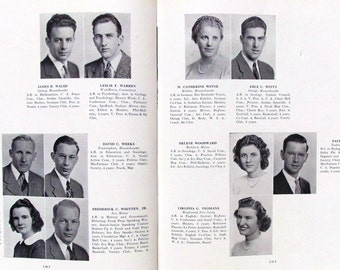 1941 College Year Book