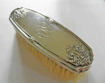 Vintage Sterling Vanity Brush Art Deco Meriden Brittania Co 1920s