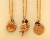 Charm Necklace - Seashell, Oui, or Cupid