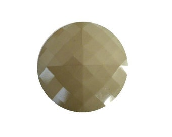 Pale Sage Green Square Facet button (no.00419)*Available in Quantity*