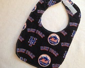 New York Mets baby bib