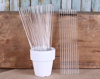 "Bulk Clear Acrylic Cake Pop Sticks, Clear Cake Pop Sticks, Clear Lollipop Sticks, Clear Sucker Sticks, Marshmallow Pop Sticks (6"" - 100)"