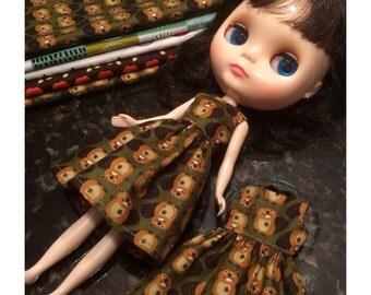 Canadian Beavers Dress / Blythe / Pullip